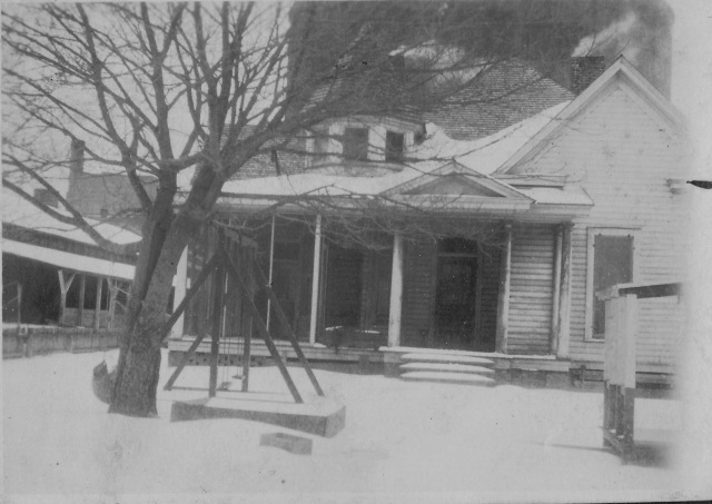 The Buckeye house, Sara's first home. Now located at 1216 Strong Avenue.