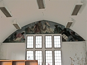 Lallah Walker Lewis murals, north wall.