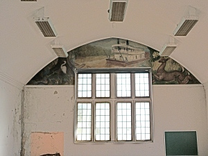 Lallah Walker Lewis murals, south wall.